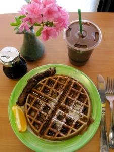 GF Belgian Waffle at Cafe Harmony
