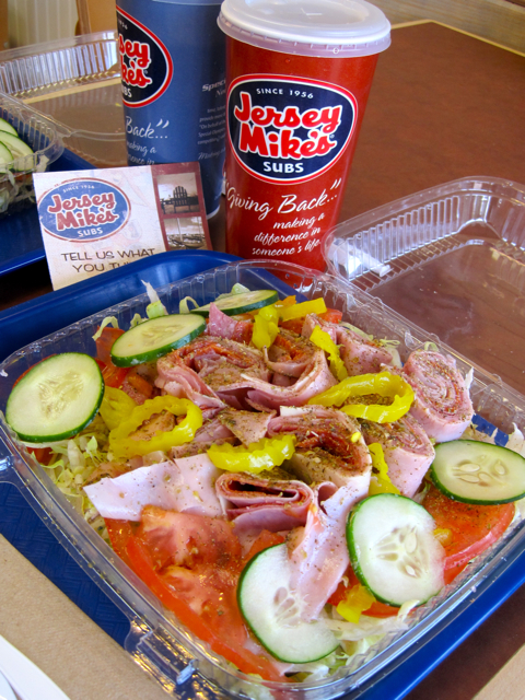 ad08259abbd6 Jersey Mike s  Sub in a Tub and or Gluten-Free Sub Rolls