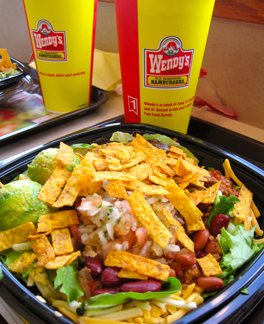 Wendys Menu Salads The gallery for -->...